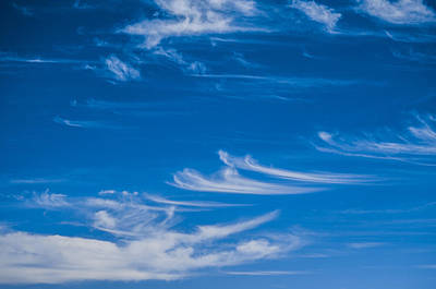 Deep Blue Photograph - Clouds by Pelo Blanco Photo