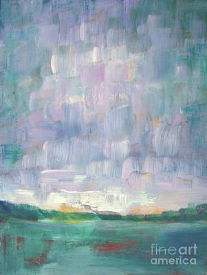 Painting - Clouds Racing  by Vesna Antic