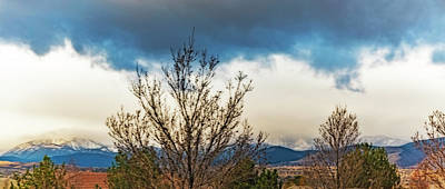 Photograph - Clouds Rain And Snow by Nancy Marie Ricketts