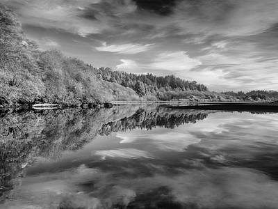 Photograph - Clouds Reflected In Little River by Greg Nyquist
