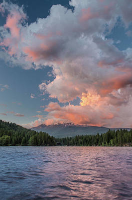 Photograph - Clouds Rising From Shasta by Greg Nyquist