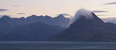 Photograph - Clouds Roll Over Sgurr Na Stri by Stephen Taylor