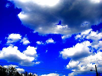Clouds Study  1 Art Print by Teo Santa