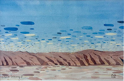 Painting - Clouds Swimming by Vaughan Davies
