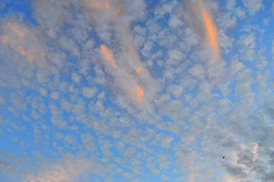 Photograph - Clouds That Evening  by Lyle Crump
