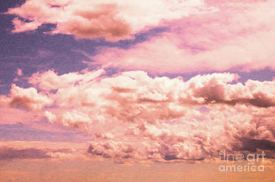 Digital Art - Clouds With Pinks by Donna L Munro