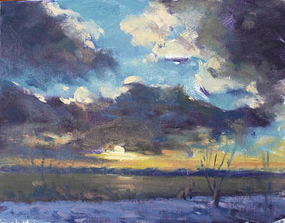 Cloud Painting - Clouds by Ylli Haruni