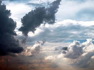 Photograph - Cloudscape ... Nine by Tom Druin