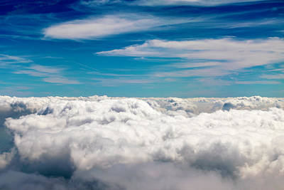 Photograph - Cloudscape 1 by Steven Richman
