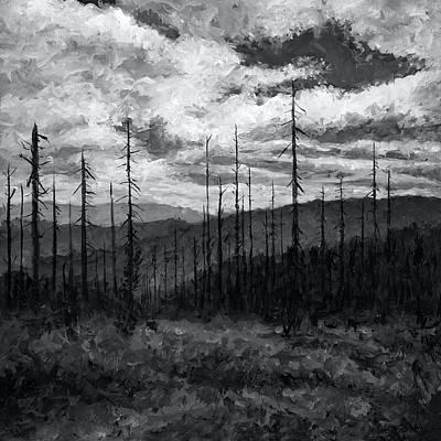Cloudscape 3 Art Print