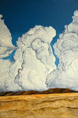 Painting - Cloudscape A by Kerry Beverly