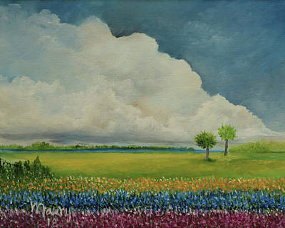 Painting - Cloudscape by Alicia Maury