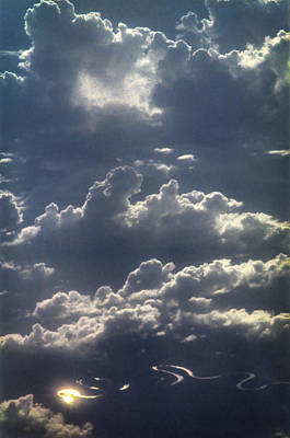 Photograph - Cloudscape And River by David Halperin