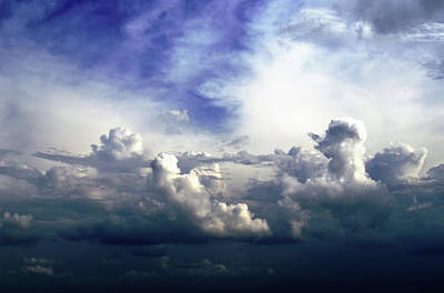 Photograph - Cloudscape Fourteen by Tom Druin