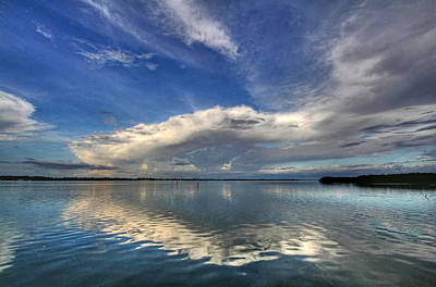 Photograph - Cloudscape by HH Photography of Florida