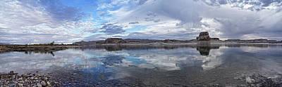 Photograph - Cloudscape Reflected by Leda Robertson