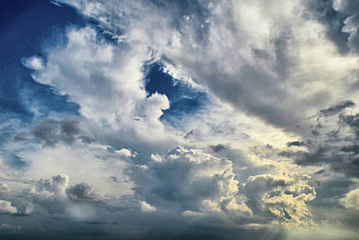 Photograph - Cloudscape Sixteen by Tom Druin