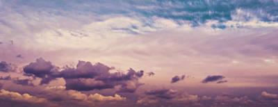 Painterly Photograph - Cloudscape by Wim Lanclus