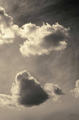 Photograph - Cloudscape Xi Toned by David Gordon