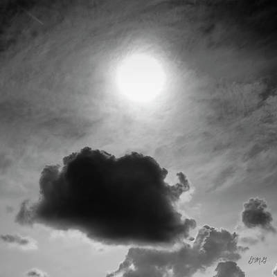 Photograph - Cloudscape Xiv Bw Sq by David Gordon