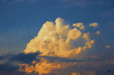Photograph - Cloudscape Xix - Painterly by David Gordon