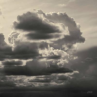 Photograph - Cloudscape Xv Toned Sq by David Gordon