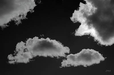 Photograph - Cloudscape Xviii Bw by David Gordon