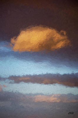 Photograph - Cloudscape Xx - Painterly by David Gordon