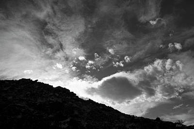 Photograph - Cloudscape Xxii Bw by David Gordon