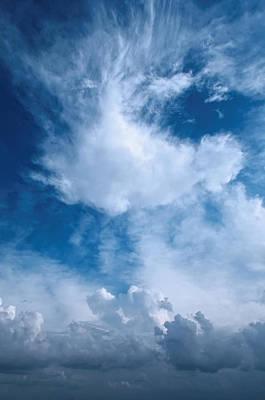 Photograph - Cloudscape...seven by Tom Druin