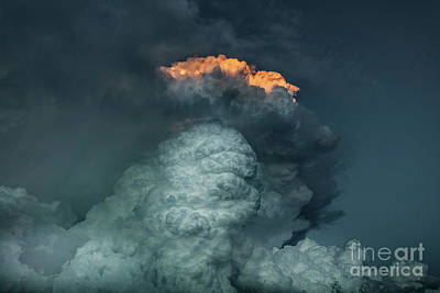 Photograph - Cloudtower by Patti Schulze