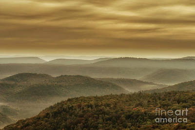 Photograph - Cloudy Appalachian Morning by Thomas R Fletcher