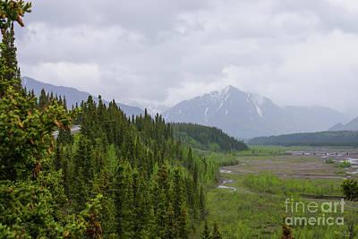 Photograph - Cloudy At Denali by Jennifer White