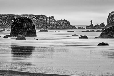 Photograph - Cloudy Beach Dawn - Oregon by Stuart Litoff