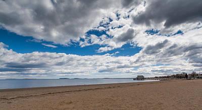 Photograph - Cloudy Beach Day by Brian MacLean