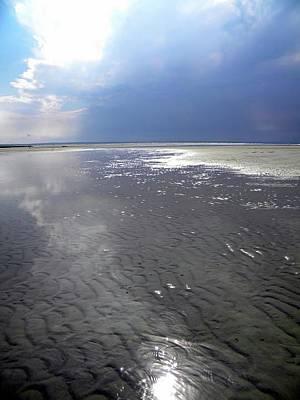 Mayflower Beach Photograph - Cloudy Beach by Sharon Ellis