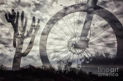 Photograph - Cloudy Bike Ride by Marianne Jensen