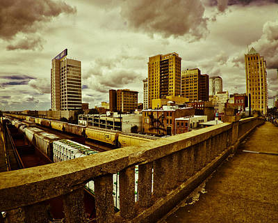 Photograph - Cloudy Birmingham by Just Birmingham