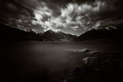 Photograph - Cloudy Day by Erica Kinsella