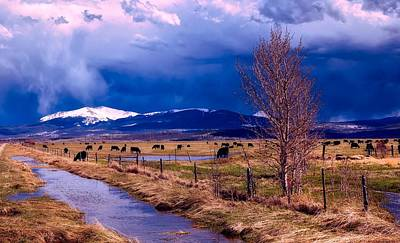 Photograph - Cloudy Day In Colorado by L O C