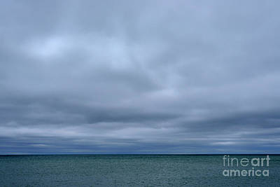 Photograph - Cloudy Day On Michigami by Thomas R Fletcher