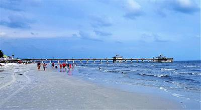 Gulf Of Mexico Photograph - Cloudy Day by Ric Schafer