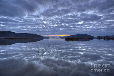 Painterly Photograph - Cloudy Evening by Veikko Suikkanen