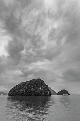 Photograph - Cloudy Ha Long Bay by Hitendra SINKAR