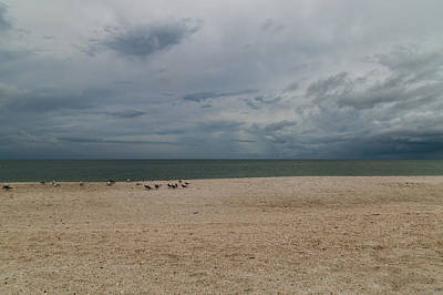 Photograph - Cloudy Horizon by Christopher L Thomley