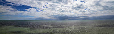Photograph - Cloudy Key West Panorama by Bob Slitzan