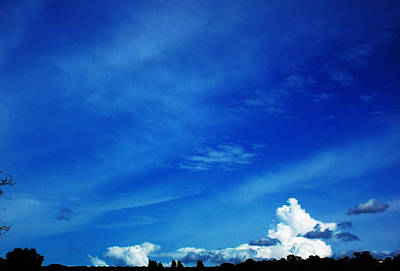 Photograph - Cloudy by Mark Blauhoefer