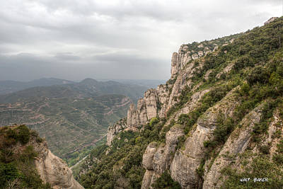 Photograph - From Montserrat by Walt  Baker