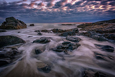 Photograph - Cloudy Morn In Ogunquit by Rick Berk