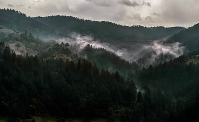 Photograph - Cloudy Morning In Bosnia by Jaroslaw Blaminsky
